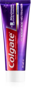 Colgate Maximum Cavity Protection Whitening Blegende tandpasta