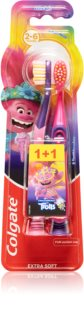 Colgate Smilies Trolls Toothbrush For Children Extra Soft
