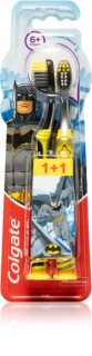 Colgate Smiles Batman οδοντόβουρτσα για παιδιά ηλικίας από 6 ετών μαλακό