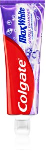 Colgate Max White Sparkle Diamonds dentífrico branqueador com fluoreto