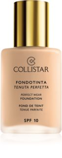 Collistar Perfect Wear Foundation maquillaje líquido resistente al agua SPF 10
