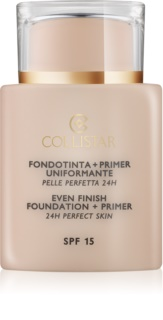 Collistar Foundation Perfect Skin фон дьо тен и основа  SPF 15