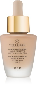 Collistar Serum Foundation Perfect Nude fond de tein illuminateur pour un look naturel SPF 15