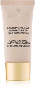 Collistar Foundation Zero Imperfections dlouhotrvající matující make-up SPF 10
