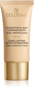 Collistar Long-Lasting Matte Foundation maquillaje matificante de larga duración SPF 10