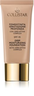 Collistar Deep Moisturizing Foundation make up hidratant SPF 15