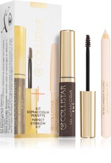 Collistar Perfect Eyebrow Kit Cosmetica Set  Asian Brown (voor Wenkbrauwen) III.