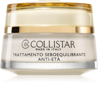 Collistar Special Combination And Oily Skins Sebum-Balancing Anti-Age Treatment Verjongende Crème  voor Regulatie van Talgproductie