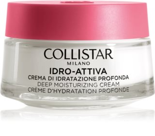Collistar Idro-Attiva Deep Moisturizing Cream зволожуючий крем