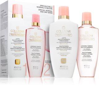Collistar Multivitamin козметичен комплект I. (за нормална и суха кожа) за жени