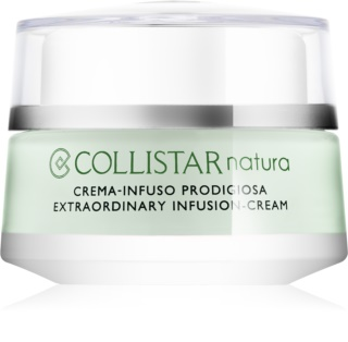 Collistar Natura Extraordinary Infusion-Cream ревитализиращ крем с изглаждащ ефект