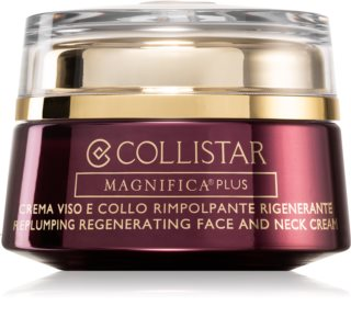 Collistar Magnifica Plus Replumping Regenerating Face and Neck Cream crema reafirmante y alisante para rostro y cuello