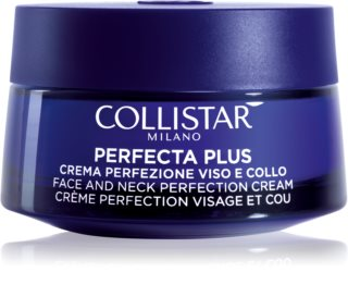 Collistar Perfecta Plus crème remodelante visage et cou