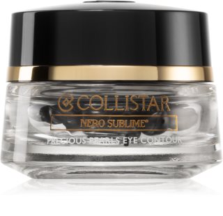 Collistar Nero Sublime® Precious Pearls Eye Contour Verstevigende Oogserum  in Capsules