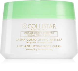 Collistar Special Perfect Body Anti-Age Lifting Body Cream creme reafirmante e de suavização  contra envelhecimento da pele