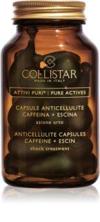 Collistar Pure Actives Anticellulite Capsules Caffeine+Escin кофеїнові капсули проти розтяжок та целюліту