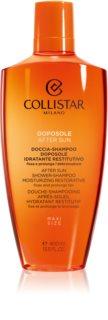 Collistar Special Perfect Tan After Shower-Shampoo Moisturizing Restorative tusoló gél napozás után testre és hajra