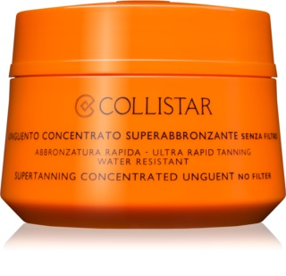 Collistar Supertanning Concentrated Unguent Koncentrerad salva för solbad Utan solskyddsfaktor