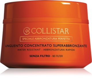 Collistar Supertanning Concentrated Unguent Concentrated Unguent For Sunbathing Without Protective Sun Factor