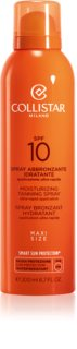 Collistar Special Perfect Tan Moisturizinig Tanning Spray spray solaire SPF 10