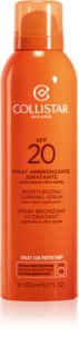 Collistar Special Perfect Tan Moisturizing Tanning Spray spray solaire SPF 20