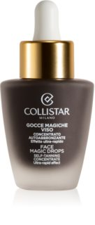 Collistar Face Magic Drops concentrado autobronceador para piel