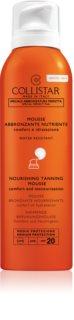 Collistar Special Perfect Tan Nourishing Tanning Mousse Aurinkosuoja Kasvo- ja Vartalovaahto SPF 20