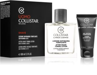 Collistar After-Shave Toning Lotion Cosmetic Set III. for Men