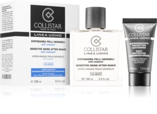 Collistar Sensitive Skins After-Shave Kosmetiksæt  I. til mænd