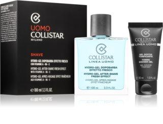Collistar Hydro-Gel After-Shave Fresh Effect After Shave Gel + Hydraterende Dagcreme  voor alle huidtypen