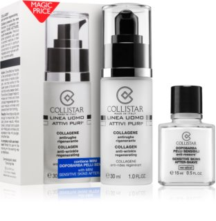 Collistar Pure Actives Collagen coffret para homens