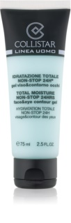 Collistar Total Moisture Non-Stop 24hrs хидратиращ гел за лице с освежаващ ефект за зоната на лицето и очите