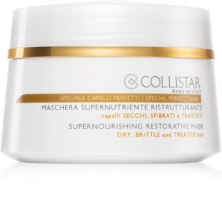 Collistar Special Perfect Hair Supernourishing Restorative Mask Nourishing Restorative Mask For Dry And Brittle Hair