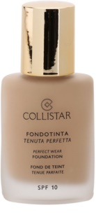 Collistar Foundation Perfect Wear maquillaje líquido resistente al agua SPF 10
