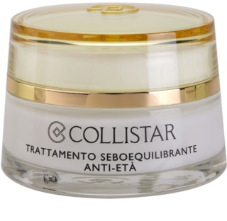 Collistar Special Combination And Oily Skins Sebum-Balancing Anti-Age Treatment krem odmładzający do regulacji sebum