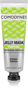 Comodynes Jelly Mask Exfoliating Particles Gel maske For perfekt hudrens