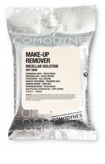 Comodynes Make-up Remover Micellar Solution Renseservietter til tør hud