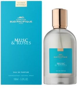 Comptoir Sud Pacifique Musc & Roses Eau de Parfum sample for Women