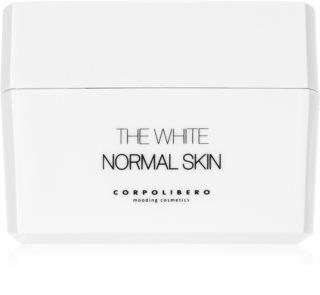 Corpolibero The White Normal Skin хидратиращ почистващ крем за нормална кожа