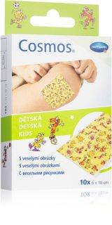 Cosmos Pevná náplast náplast pro děti  6  x 10 cm