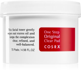 Cosrx One Step Original Cleaning Pads To Reduce Oily Skin