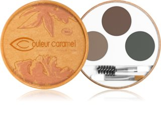 Couleur Caramel Eyebrow Kit palette sourcils