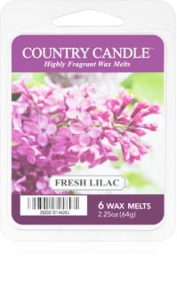 Country Candle Fresh Lilac tartelette en cire