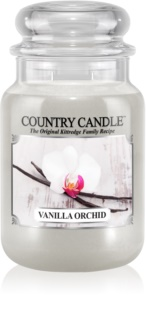 Country Candle Vanilla Orchid candela profumata