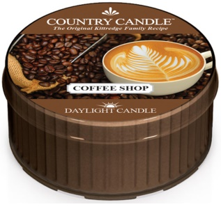 Country Candle Coffee Shop vela de té