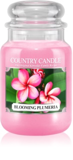 Country Candle Blooming Plumeria αρωματικό κερί