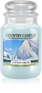 Country Candle Cotton Fresh vonná svíčka