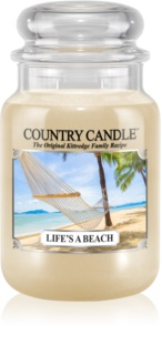 Country Candle Life's a Beach αρωματικό κερί
