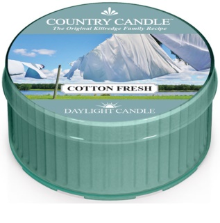 Country Candle Cotton Fresh vela de té