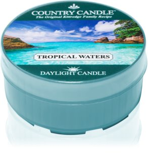 Country Candle Tropical Waters čajna svijeća